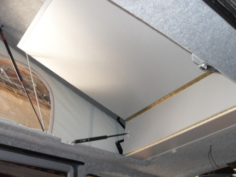 vw t5 full elevating bed kit campervan roof. Black Bedroom Furniture Sets. Home Design Ideas