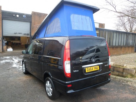 Mercedes Vito Mark 1 ELWB Rear Elevator 2004 Campervan Roof