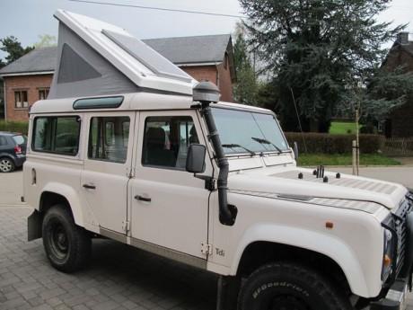 Land Rover 90 110 Rear Elevator Campervan Roof