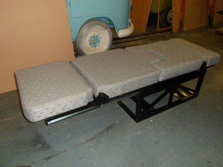 New Style Nlbd2 Washington Single Campervan Bed Seat